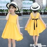 女童洋裝夏裝2021新款夏天洋氣女孩兒童夏款韓版大童裝公主裙子 蘇菲小店