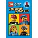 【麥克書店】LEGO 樂高讀本合輯: ADVENTURES IN LEGO CITY / 內含8本書