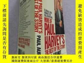 二手書博民逛書店MORE罕見OF PAUL HARVEY S THE REST