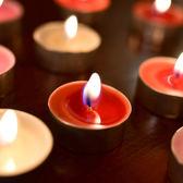 蠟燭香薰-無煙香薰蠟燭浪漫創意生日禮物煮茶保溫無煙茶燭求婚供佛蠟燭熏香 夢娜麗莎