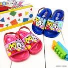 童鞋城堡-寶寶後帶拖鞋 巧虎 TR0305-桃/藍 (共二色)