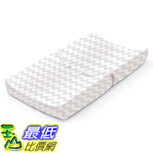 [7美國直購] 尿布墊 Summer Infant Ultra Plush Changing Pad Cover, Chevron B00ECL5N0K
