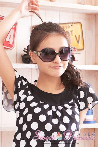 泳衣配件  經典百搭太陽眼鏡組 - 艷陽出遊必備小物(黑) -沁甜美姬