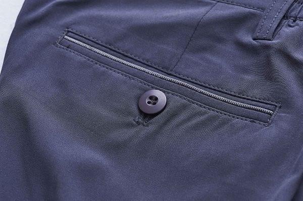 【Emilio Valentino】范倫鐵諾城市樂活休閒短褲_灰藍