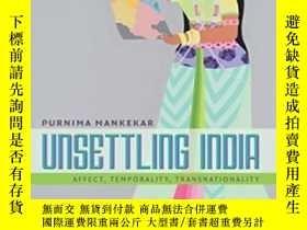 二手書博民逛書店Unsettling罕見India-不安的印度Y436638 Purnima Mankekar Duke Un