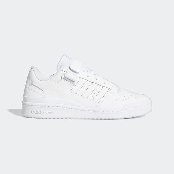 Adidas Forum Low [FY7755] 男鞋 運動 休閒 經典 復古 穿搭 舒適 愛迪達 白