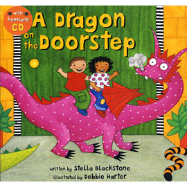 『鬆聽出英語力--第33週』- A DRAGON ON THE DOORSTEP / 書+VCD