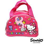 【三麗鷗正版】Hello Kitty 凱蒂貓 魔法學園系列 便當袋 手提袋 餐袋 三麗鷗 Sanrio - 005244