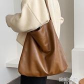 大容量包包女包2021新款潮時尚簡約單肩包網紅百搭托特包軟皮大包