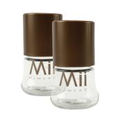【愛的世界】Mii Organics 4oz寬口玻璃奶瓶2支裝-美國製- ★Mii 嬰兒用品   限時優惠 享結帳再 9 折