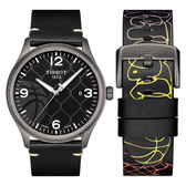 TISSOT 天梭 CHRONO XL 3X3 街頭籃球特別版手錶-45mm T1164103606700