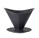 金時代書香咖啡 KINTO OCT 八角陶瓷濾杯 4人 黑色 OCT-28882-BK