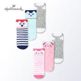 Hallmark Babies 可愛動物嬰童小貓襪子(三件組) HH1-N05-A8-AG-MR