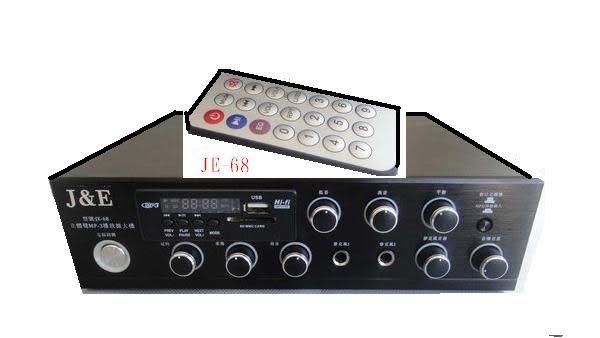 【中彰投電器】J&E(MP3/USB/ECHO)迷你擴大機,PK-88【全館刷卡分期+免運費】