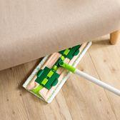 360度旋轉平板拖把地板免手洗毛巾拖布 家用夾固式木地板瓷磚地拖【八五折免運直出】