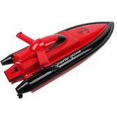 遙控船 兒童遙控船遙控快艇水上兒童玩具船模可後退4通道玩具船兒童 夢藝家