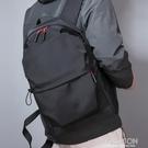 潮牌雙肩包男士簡約背包防水大學生書包男大容量休閒旅行包女