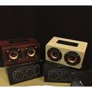 W5 超質感大眼木質藍芽音箱 HIFI立體聲/語音提示/TF卡/免持通話 各式手機通用 S-23
