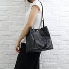 【solomon原創設計皮件】真皮磁扣肩背包 側背包 手提 牛皮環保購物包