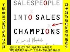 二手書博民逛書店Coaching罕見Salespeople Into Sales ChampionsY256260 Keith