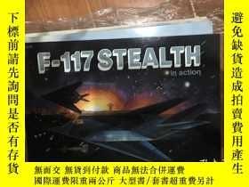 二手書博民逛書店F-117隱形轟炸機F-117罕見Stealth in action - Aircraft No. 115Y