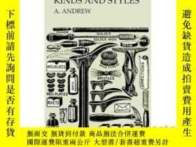 二手書博民逛書店Shoes罕見of All Kinds and Styles - Men's and ...-各種款式的
