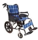 輪椅B款-15吋小輪折背-豪華型輪椅//安舒351  贈 1 好禮
