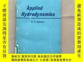 二手書博民逛書店Applied罕見Hydrodynamics 應用流體動力學(英