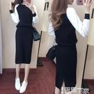 套裝裙 針織毛衣半身裙套裝裙子女秋冬季韓版減齡休閒時尚氣質淑女兩件套 【99免運】