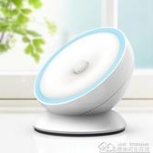 充電池家用光控聲控台燈臥室床頭小夜燈節能樓道喂奶人體感應 【快速出貨】