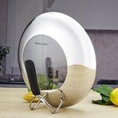 恒德可視透明不銹鋼鍋蓋加厚可立防溢30cm/32cm/34cm炒菜鍋蓋