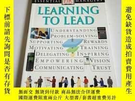 二手書博民逛書店LEARNING罕見TO LEAD(英文)Y212829