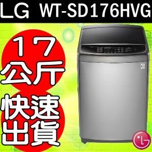 《再打X折可議價》LG樂金【WT-SD176HVG】17kg蒸善美直驅變頻洗衣機