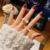 2件裝開口時尚食指戒指女韓版指環【小酒窝服饰】