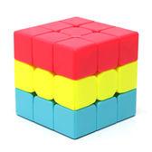 三明治魔方 漢堡3階蛋糕三階凹凸魔方靈活順滑幼兒園益智兒童玩具