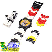 [美國直購] LEGO Kids 9002922 Star Wars Stormtrooper Plastic Watch 沙漠白兵 白武士 星際大戰 手錶