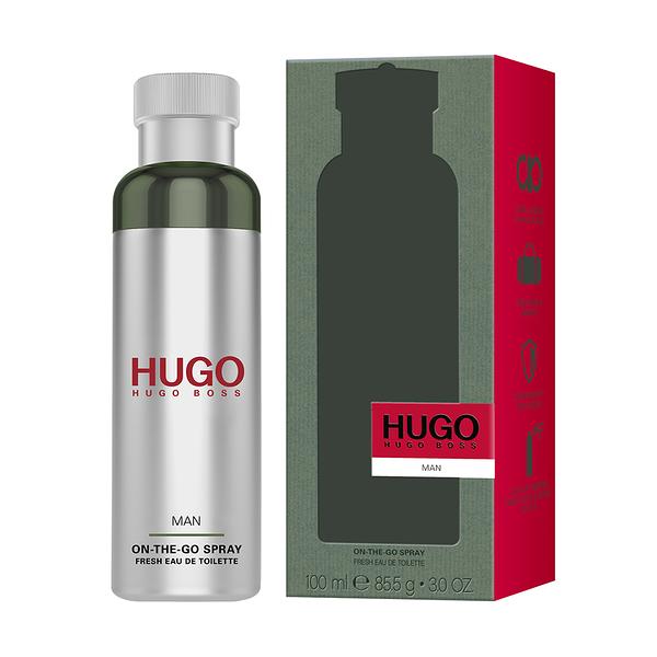 【HUGO BOSS】HUGO MAN 香氛帶我走噴霧 100ml