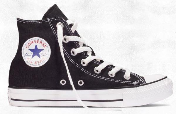 CONVERSE Chuck Taylor All Star 黑白帆布休閒鞋 NO.M9160C