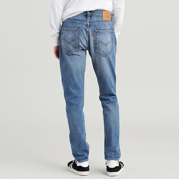 Levis 男款 上寬下窄 / 502 Taper牛仔褲 / 淺藍水洗 / 彈性布料