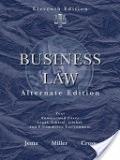 二手書 Business Law, Alternate Edition: Text and Summarized Cases, Legal, Ethical, Global, and E-co R2Y 9780324596168
