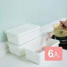 《真心良品》雷納急鮮耐冷保鮮盒4.5L(6入組)