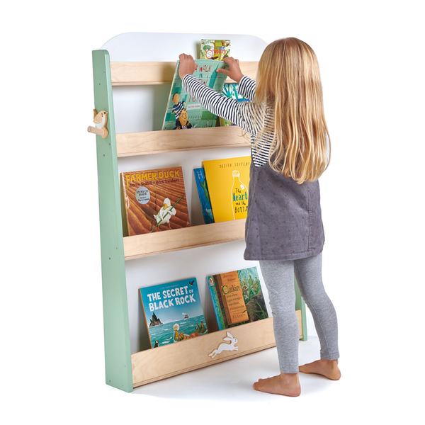 【美國Tender Leaf Toys】森林書架(木製兒童家具)