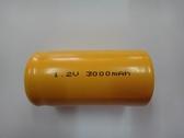 全館免運費【電池天地】2號C 鎳鎘充電電池 1.2V 3000mah   工業用電池.特殊電池