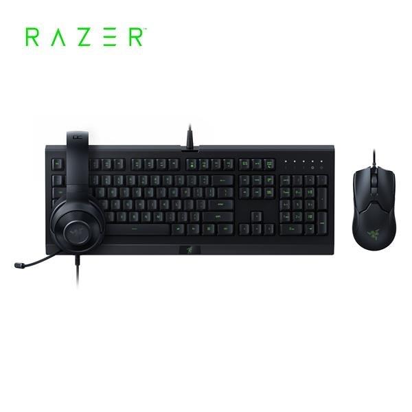 雷蛇Razer Power Up Bundle 3合1有線超值套組(鍵盤+滑鼠+耳機)