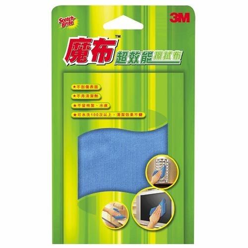 3M百利 魔布超效能擦拭抹布單片(30*32cm)【愛買】