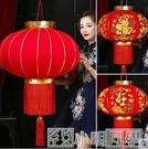 燈籠 大紅燈籠春節過新年中國風掛飾元旦戶外宮燈陽台大門口裝飾燈吊燈 NMS小明同學