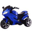 兒童電動車 兒童電動摩托車三輪車1-3-6歲小孩玩具車可坐人寶寶充電遙控童車 莎瓦迪卡