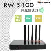 ROWA 樂華 RW-5800 無線影音傳送器 網拍 直播 婚攝 視訊會議 無線傳輸 Full HD WHDI