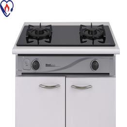 【歐雅系統家具廚具】林內 Rinnai RBTS-271GF 崁入式Lotus二口瓦斯爐