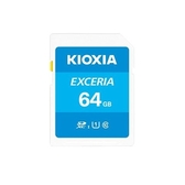 [富廉網]【KIOXIA】EXCERIA 64G SDXC UHS-I U1 C10 R100 記憶卡